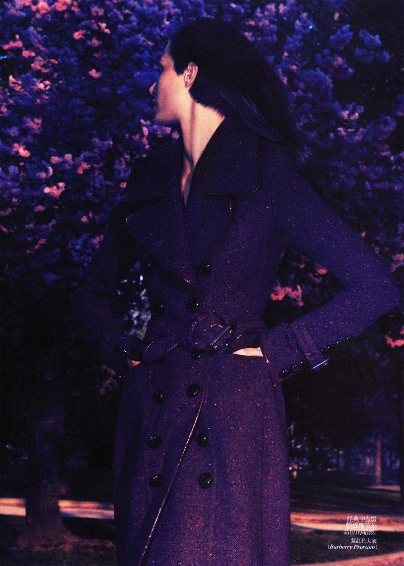 Aymeline Valade by Camilla Akrans for Vogue China July 2011
