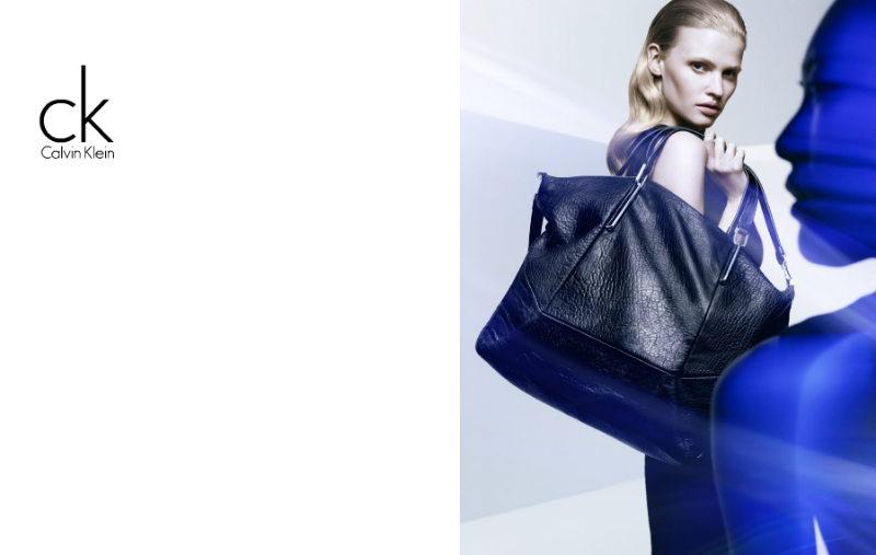 ck by Calvin Klein Fall 2011 Campaign | Lara Stone & Liu Wen by Craig McDean