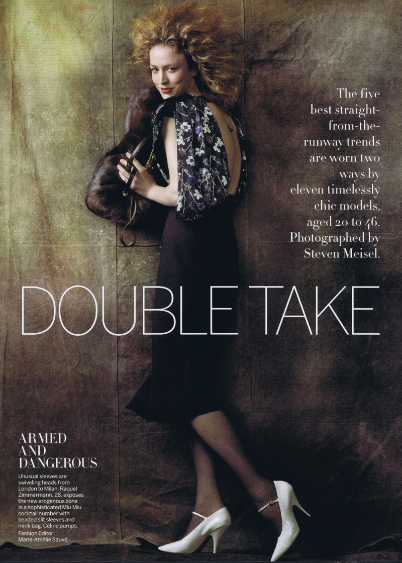 Miranda Kerr, Candice Swanepoel, Raquel Zimmermann & Others by Steven Meisel for Vogue US August 2011
