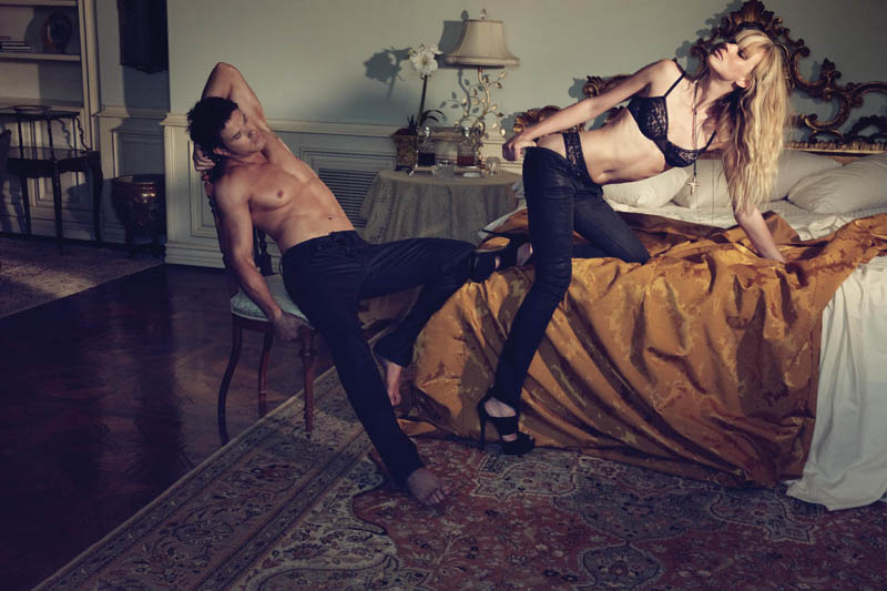 Anne Vyalitsyna for Dylan George Fall 2011 Campaign by Yu Tsai