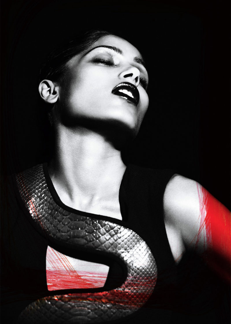 Freida Pinto by Mert & Marcus for Interview August 2011