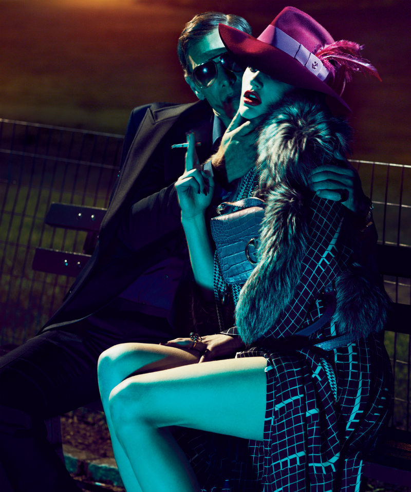 Saskia de Brauw wore Gucci in Mert & Marcus' photo for Interview August