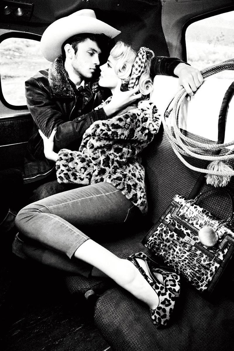 Guess Fall 2011 Campaign | Amber Heard by Ellen von Unwerth