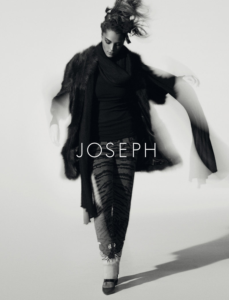 Joseph Fall 2011 Campaign | Daria Werbowy by Peter Lindbergh