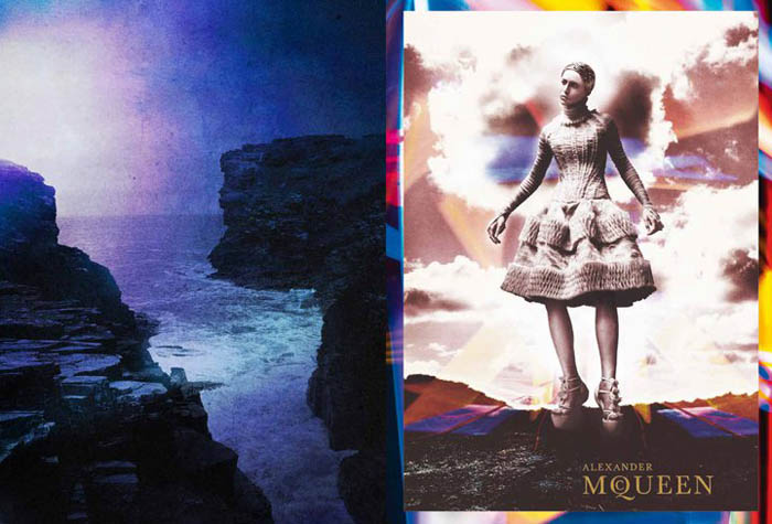 Alexander McQueen Fall 2011 Campaign | Raquel Zimmermann by David Sims