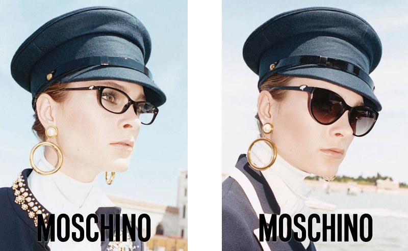 Moschino Fall 2011 Campaign   Irina Kulikova by Juergen Teller