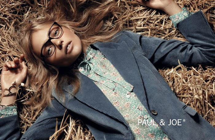 Sasha Pivovarova for Paul & Joe Fall 2011 Campaign