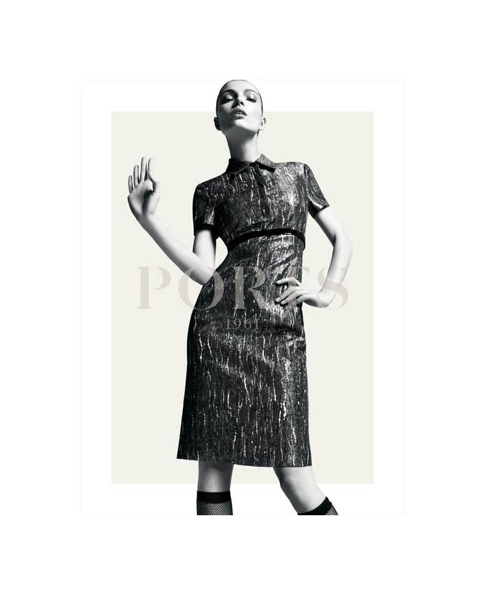 Carola Remer for Ports 1961 Fall 2011 Campaign by Inez & Vinoodh