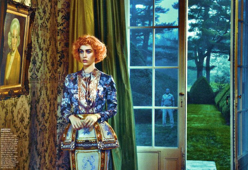 Raquel Zimmermann by Steven Klein for Vogue US August 2011