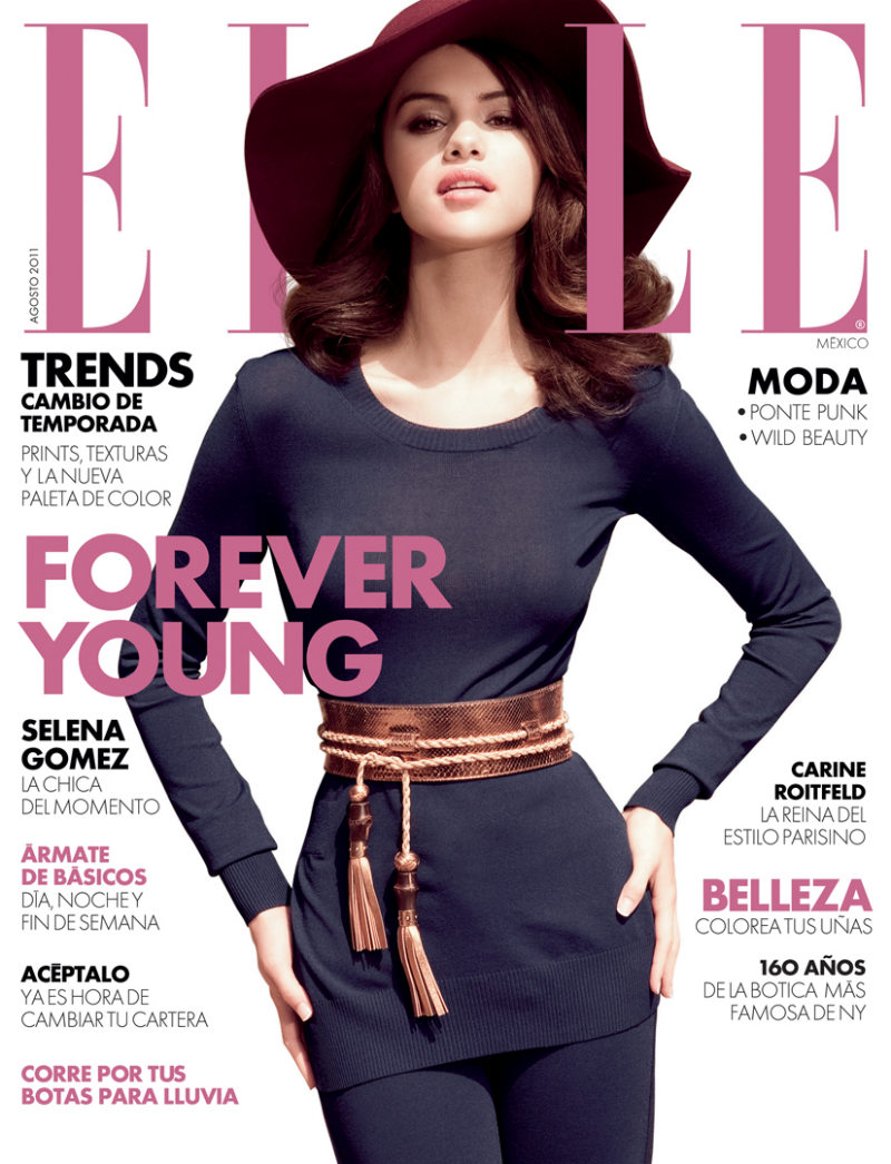 Selena Gomez by Gomillion & Leupold for Elle Mexico August 2011