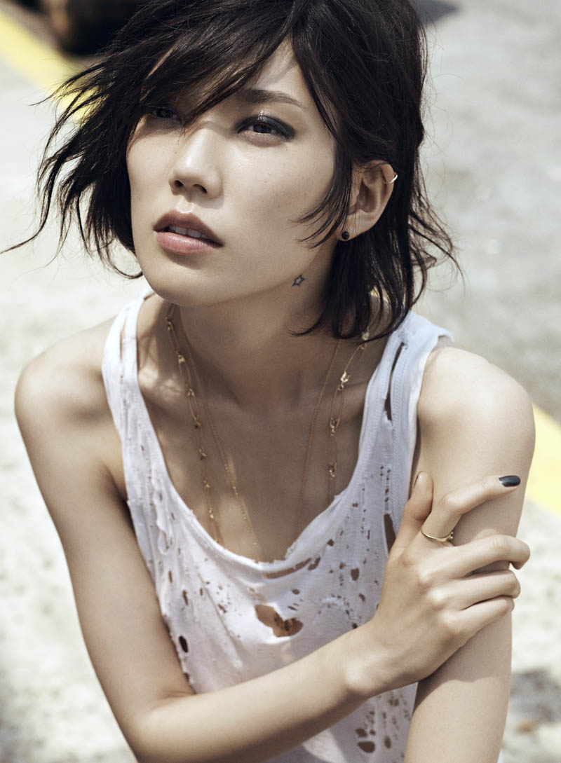 Tao Okamoto by Lachlan Bailey for Vogue China August 2011