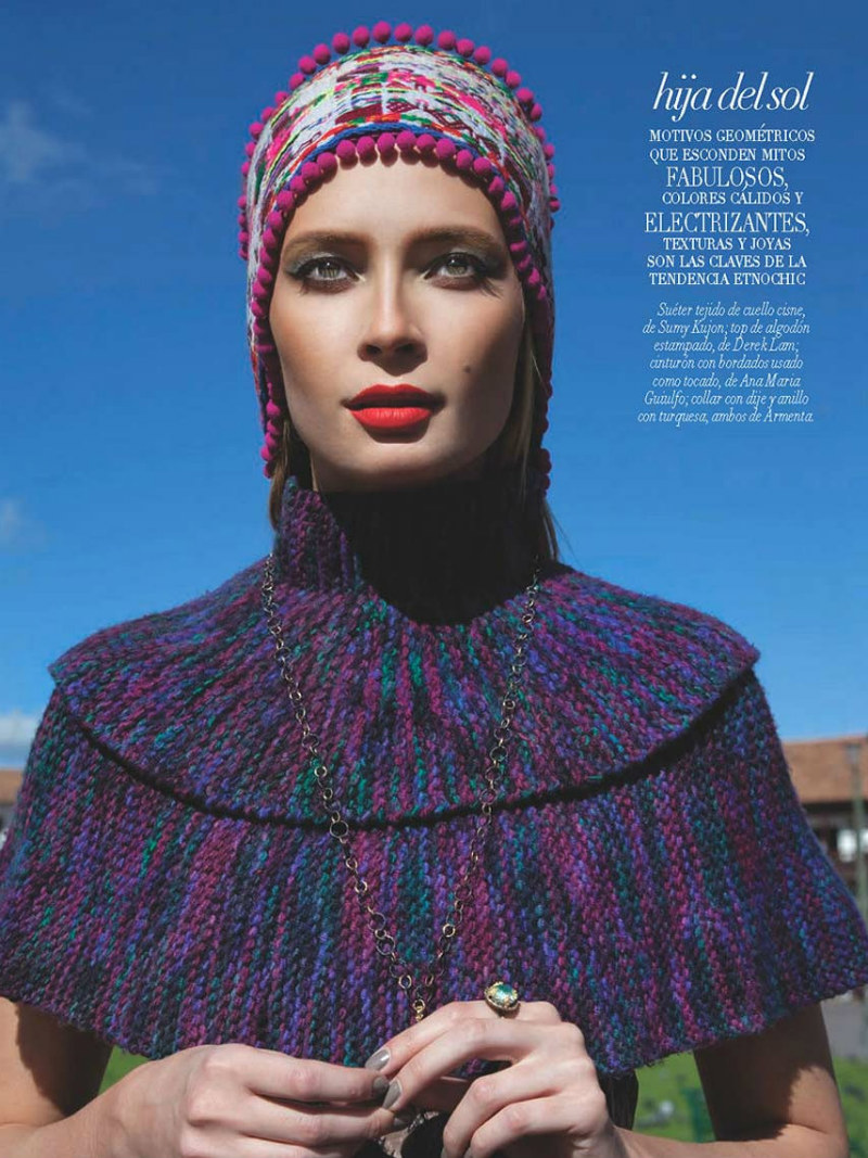 Tiiu Kuik by Michael Filonow for Vogue Latin America August 2011