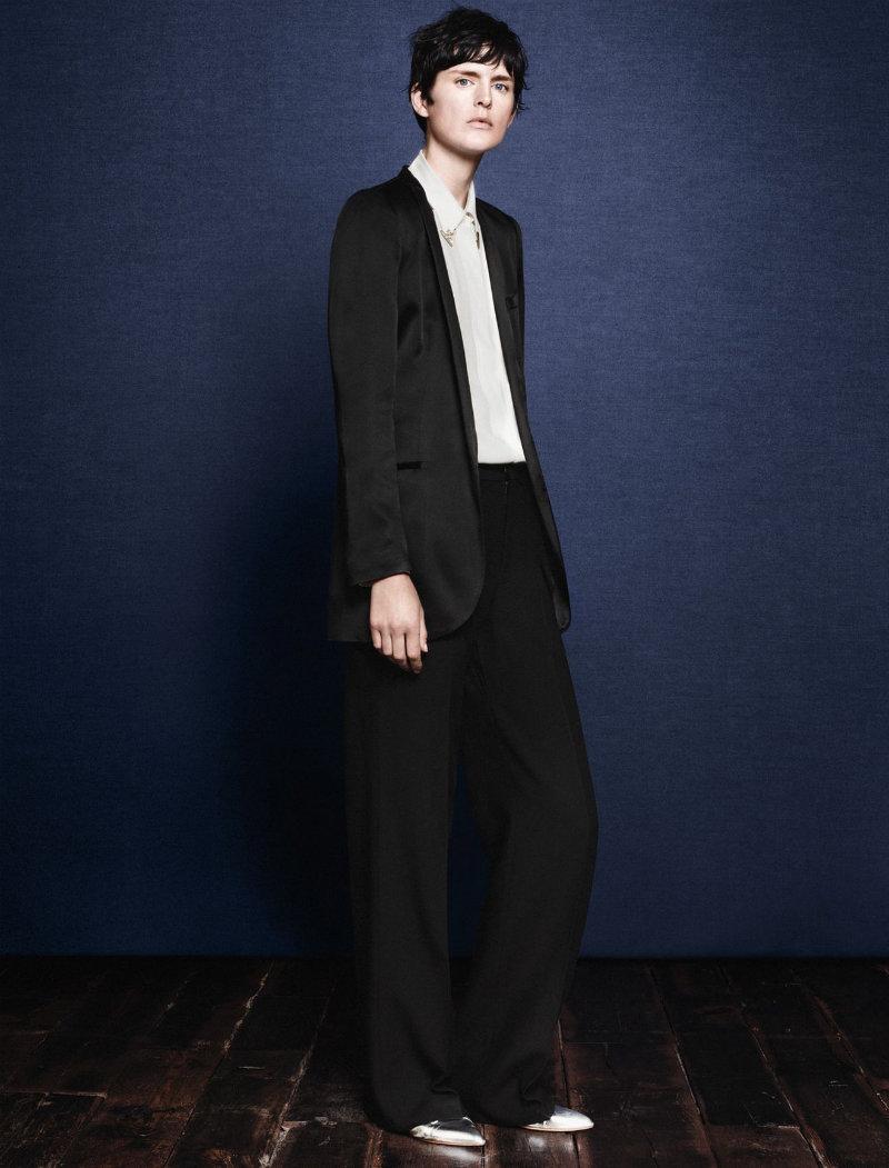 Stella Tennant for Zara Fall 2011 Campaign