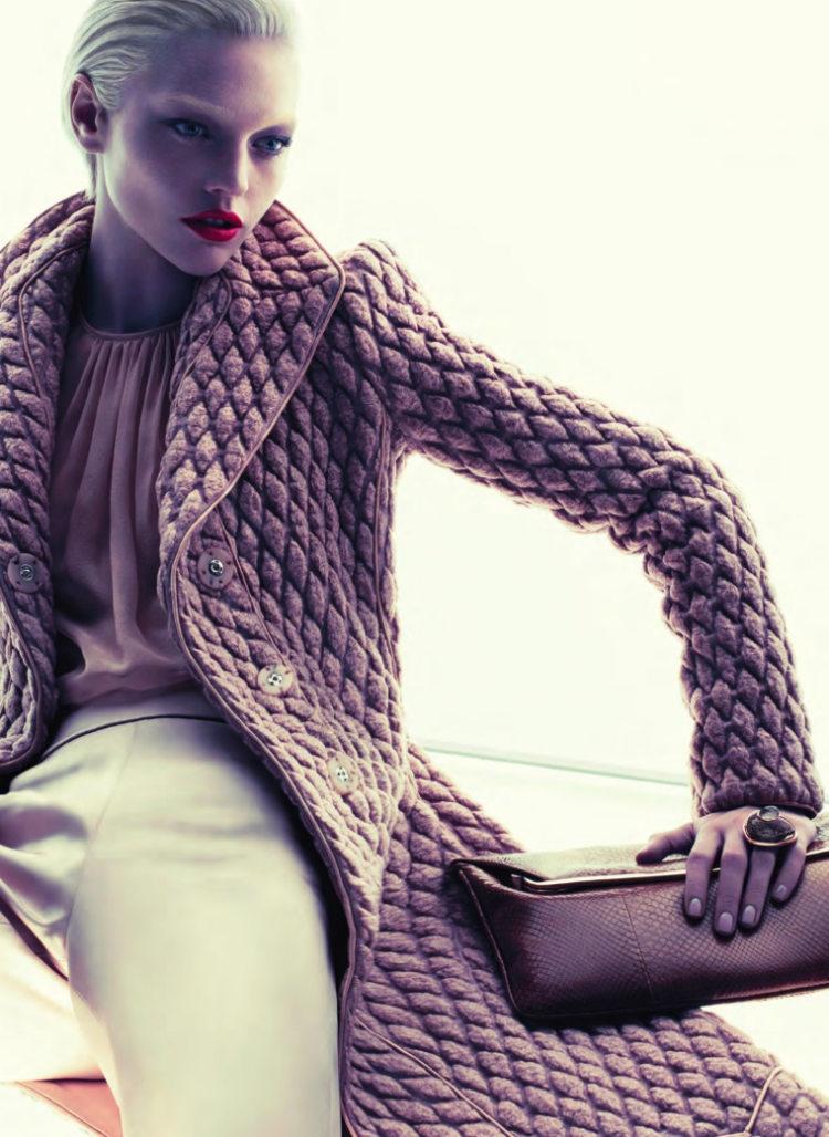 Giorgio Armani Fall 2011 Campaign | Sasha Pivovarova by Mert & Marcus
