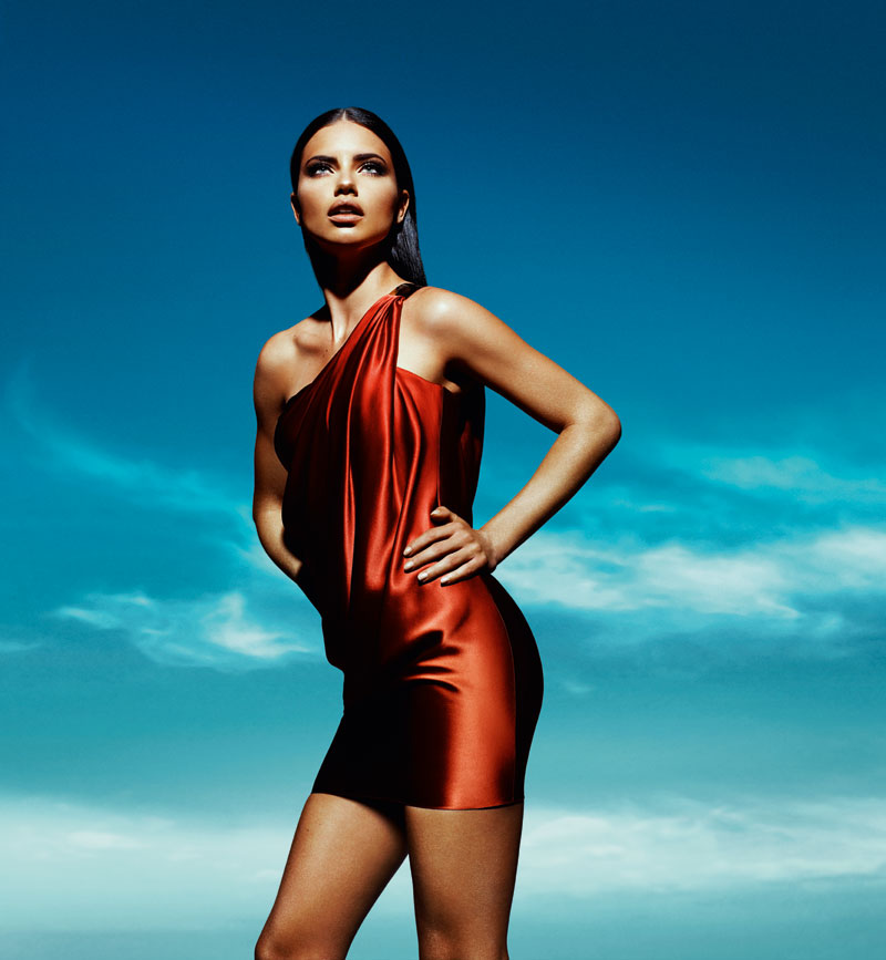 Adriana Lima for Forum Spring 2012 Campaign by Gui Paganini