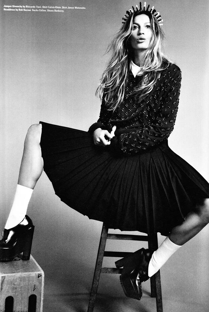 Gisele Bundchen by Emma Summerton for i-D Pre-Fall 2011