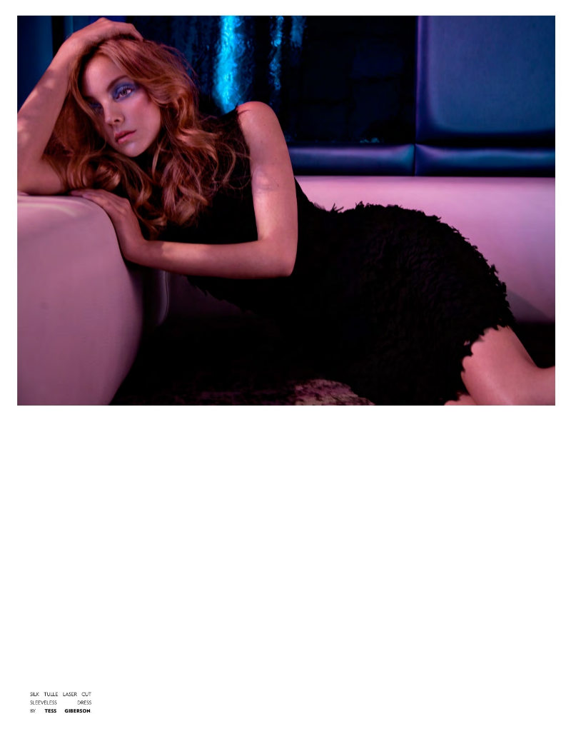 Heather Marks by Randall Slavin for Flaunt