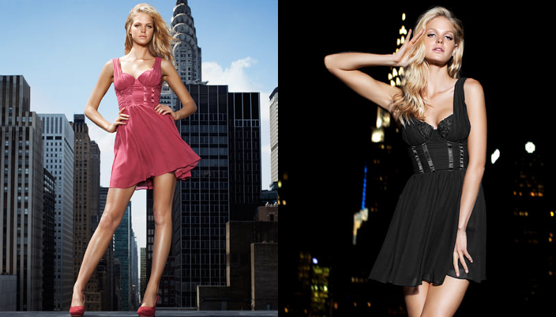 Erin Heatherton for H&M by Night by David Roemer