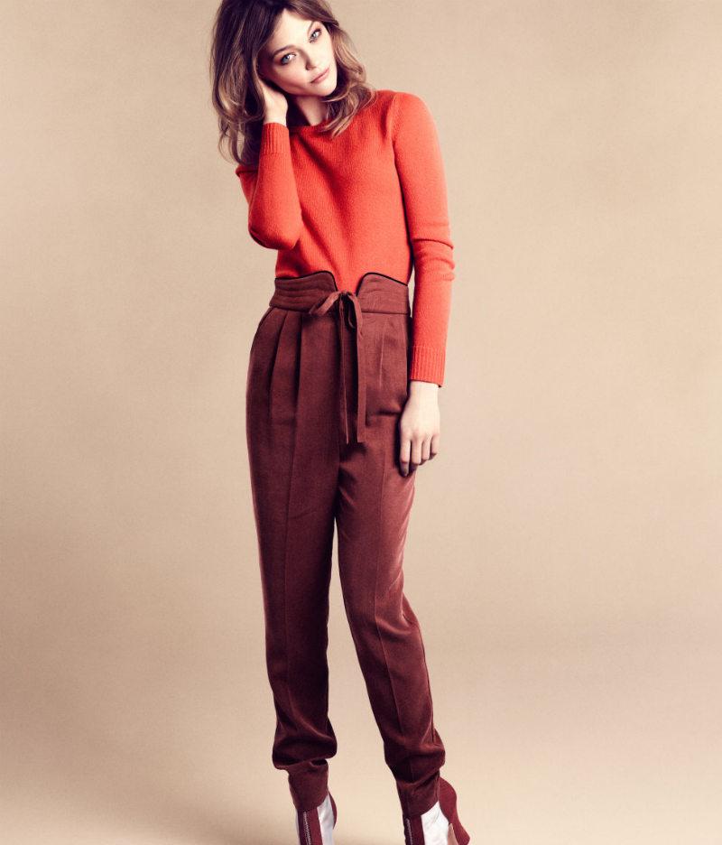 Sasha Pivovarova for H&M Fall 2011