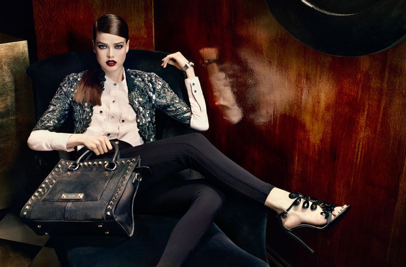 Julia Saner for Karen Millen Fall 2011 Campaign by Sharif Hamza