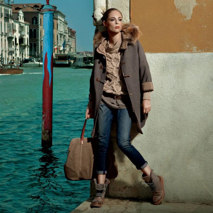 Coco Rocha for Americana Manhasset Fall 2011
