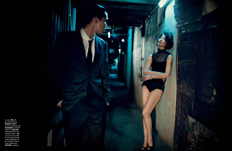 Du Juan by Vincent Peters for Numéro China September 2011