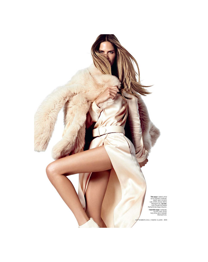 Frankie Rayder by David Roemer for Marie Claire US September 2011