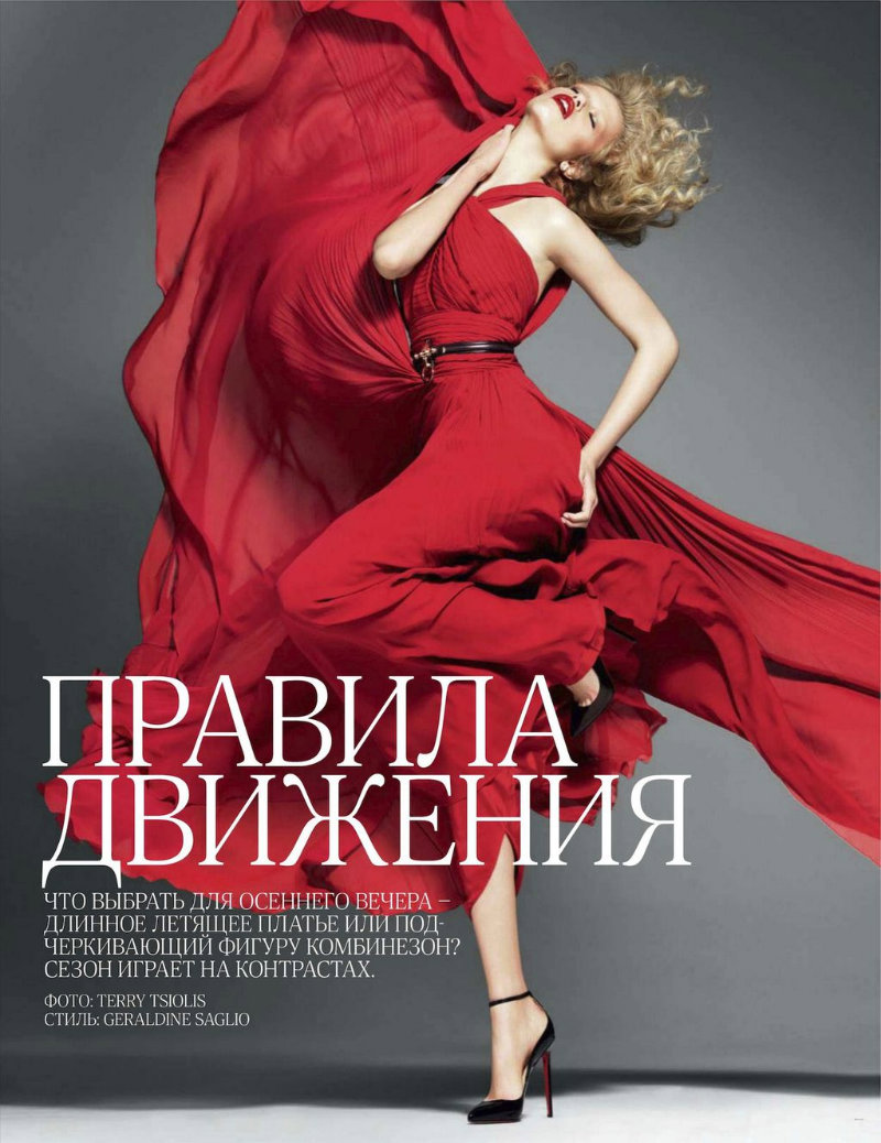 Hailey Clauson by Terry Tsiolis for Vogue Russia September 2011