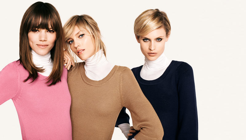 Anja Rubik & Freja Beha Erichsen for H&M Fall 2011 Campaign by Terry Richardson