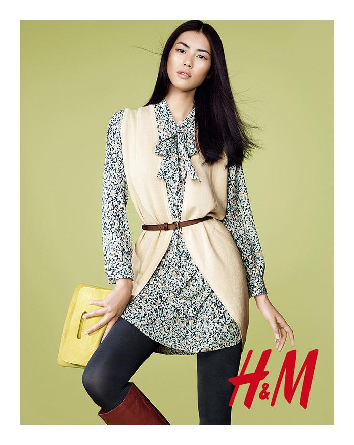 Liu Wen & Edita Vilkeviciute for H&M Trend Update by Peter Gehrke