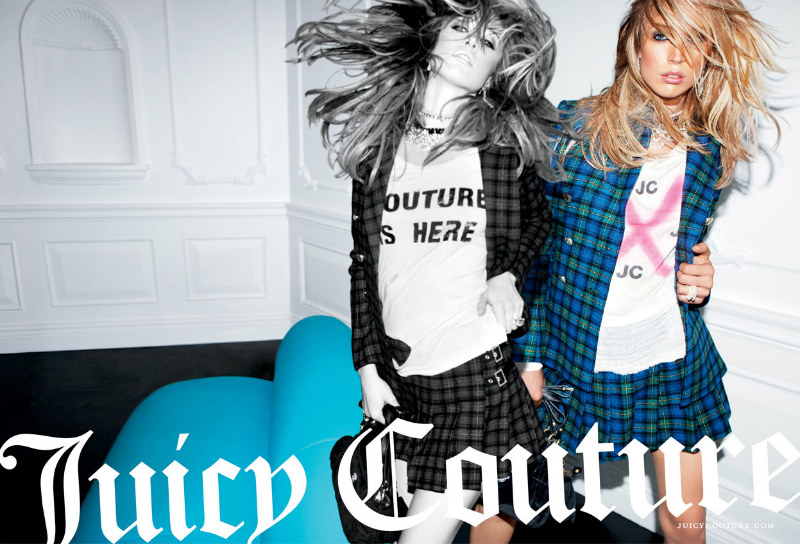 Juicy Couture Fall 2011 Campaign   Raquel Zimmermann by Inez & Vinoodh