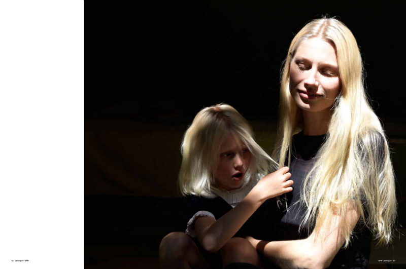 Kirsty Hume by Tierney Gearon for Oyster #94