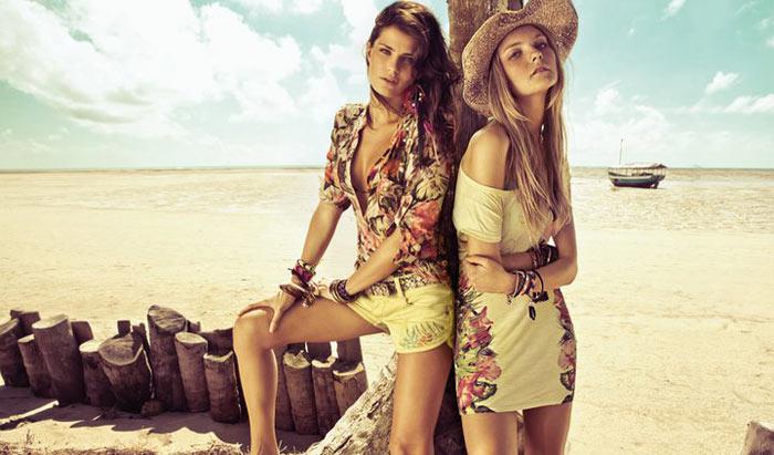 Isabeli Fontana & Caroline Trentini for Morena Rosa Spring 2012 Campaign by Jacques Dequeker