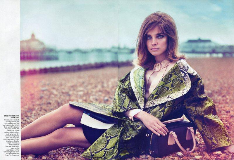 Natalia Vodianova by Mert & Marcus for Vogue US September 2011