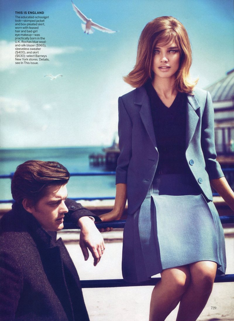 Natalia Vodianova by Mert & Marcus for Vogue US September 2011