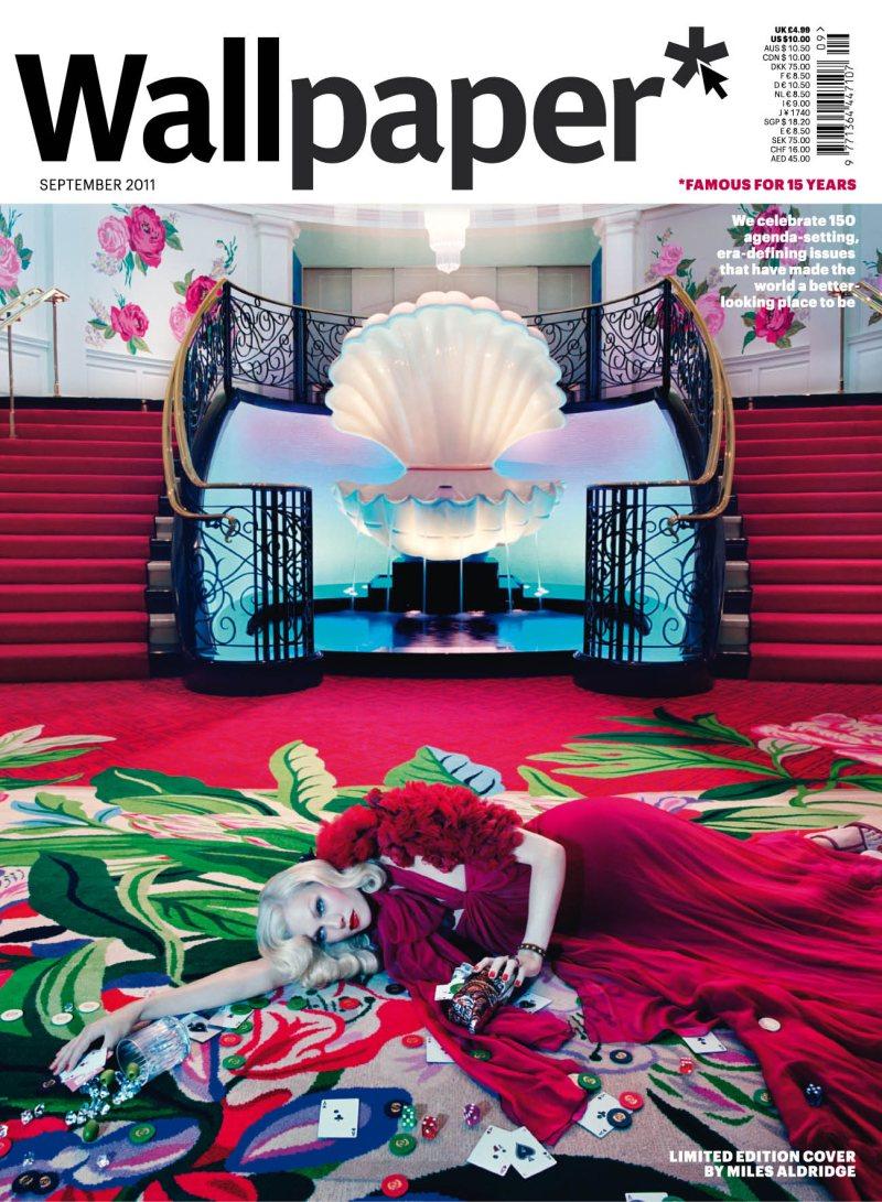 Shirley Mallmann by Miles Aldridge for Wallpaper September 2011
