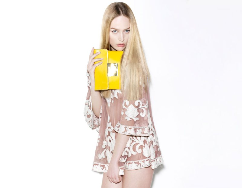Raquel Zimmermann for A. Brand Spring 2012 Campaign by Henrique Gendre
