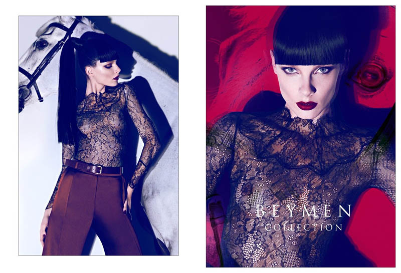 Jules Mordovets for Beymen Fall 2011 Campaign by Koray Birand