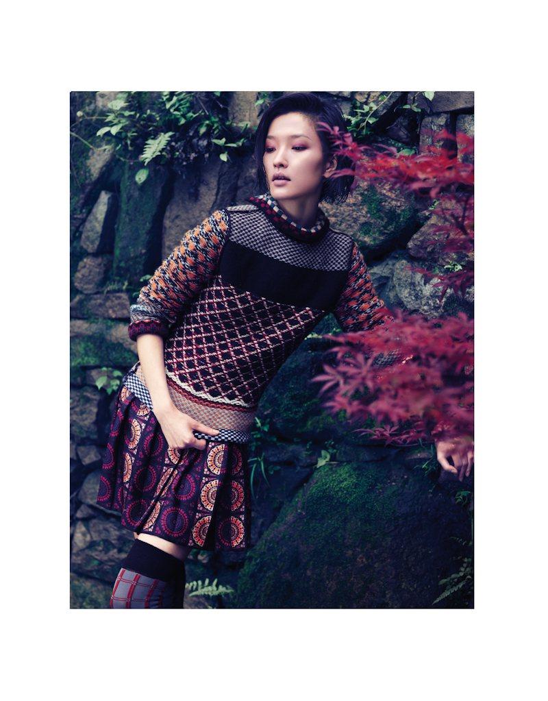 Du Juan by Stockton Johnson for Vogue China September 2011
