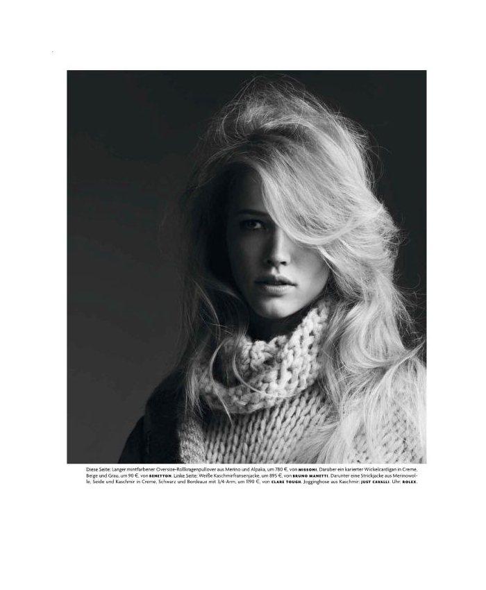Hanna Waehmer by Stefan Heinrichs for Vogue Germany September 2011