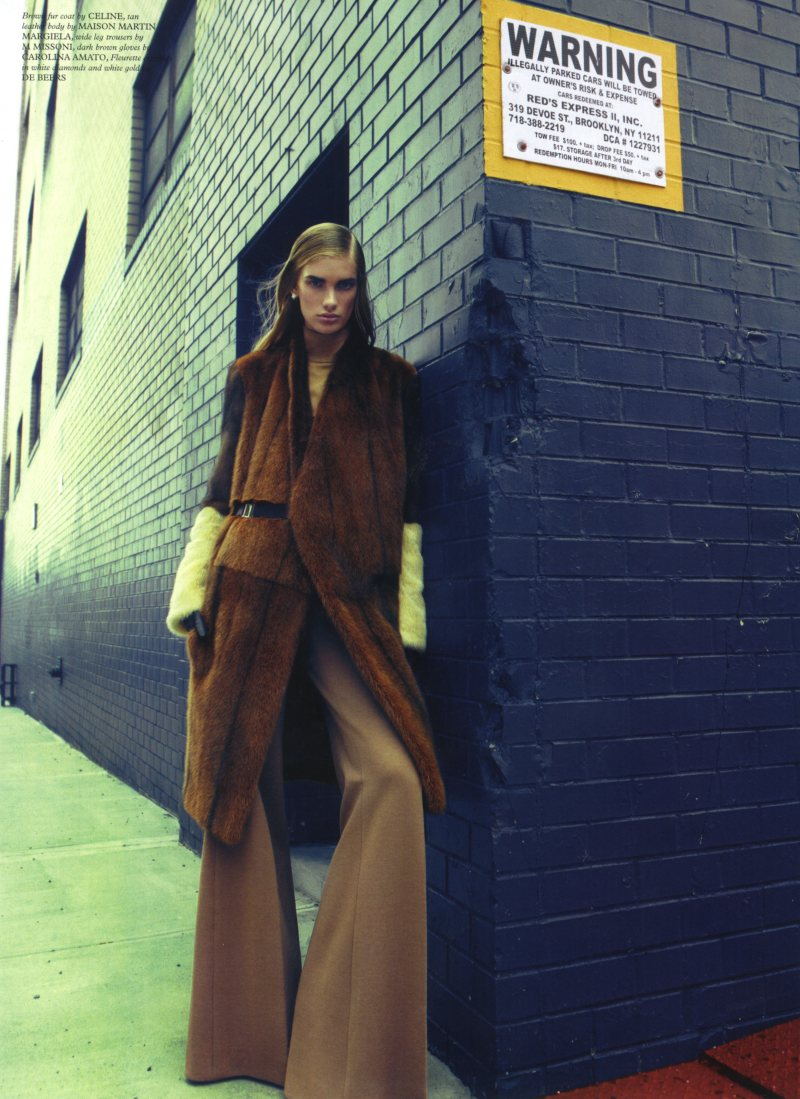 Ilse de Boer by Kai Z. Feng for Wonderland