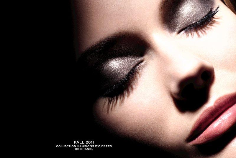 Jac Jagaciak for Chanel Beauty Fall 2011 Campaign by Sølve Sundsbø