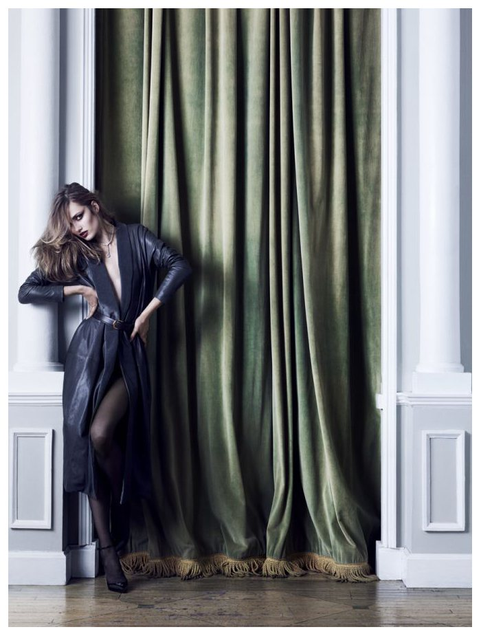 Karmen Pedaru by Hedi Slimane for Vogue China September 2011