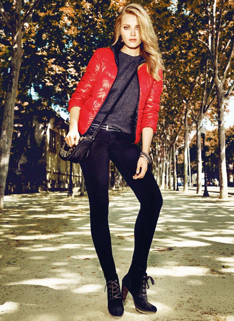 """Jourdan Dunn, Anna Jagodzinska & Ming Xi for Mango """"City Wear"""" Collection"""