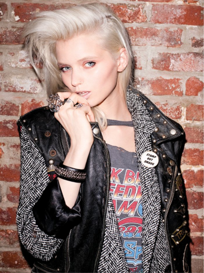 Abbey Lee Kershaw for Moussy Fall 2011 Campaign by Terry Richardson