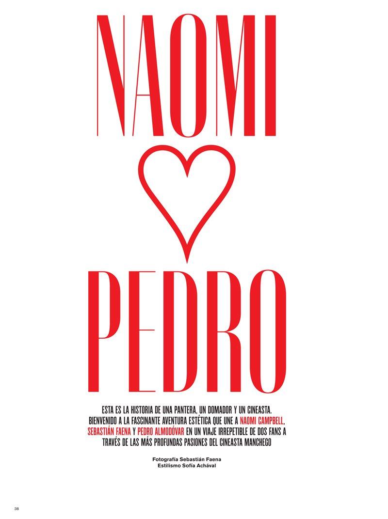 Naomi Campbell by Sebastian Faena for V Spain Fall 2011