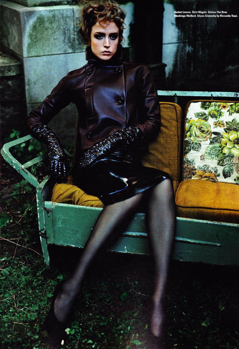 Raquel Zimmermann by Josh Olins for i-D Pre-Fall 2011
