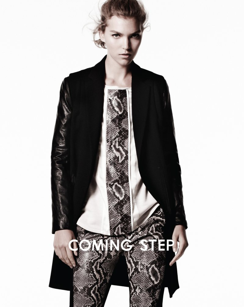 Arizona Muse for Coming Step Fall 2011 Campaign by Daniel Jackson