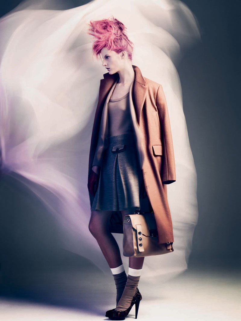 Sara Blomqvist by Andreas Sjodin for NK Style Crimes Campaign