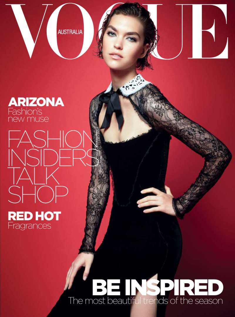 Vogue Australia October 2011 Cover | Arizona Muse by Kai Z. Feng